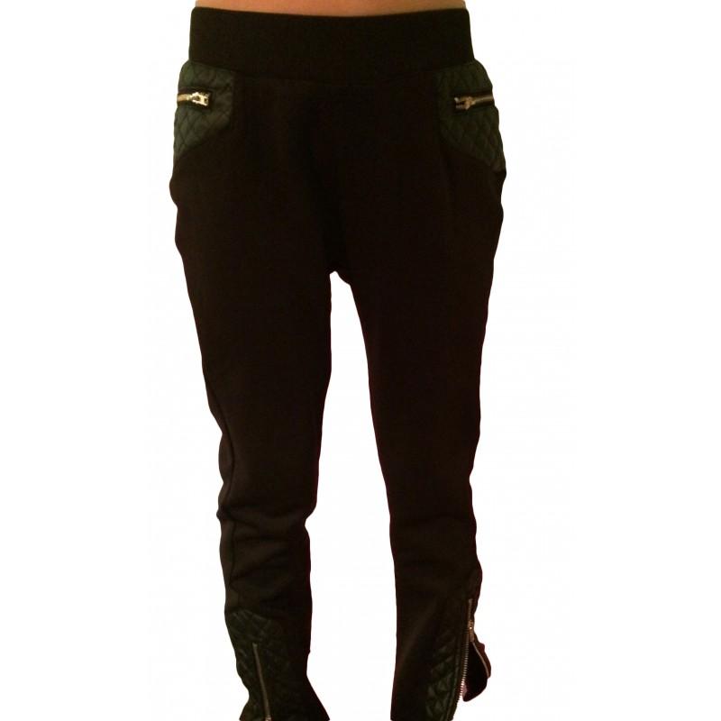 pantalon legging simili cuir sur look de momes v tements. Black Bedroom Furniture Sets. Home Design Ideas