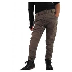 pantalon kaki fille