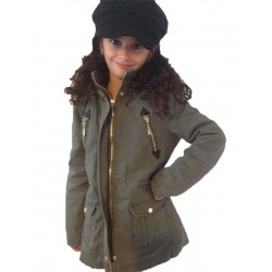 blousons vestes veste en jean 39 s parka doudounes diff rentes pour enfant fille de 4 14 ans. Black Bedroom Furniture Sets. Home Design Ideas