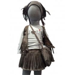 Ensemble Pocahontas fille 4 pièces