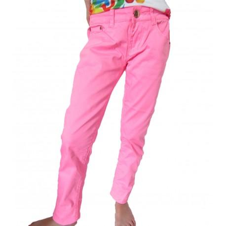 Pantalon rose fluo