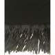 Haut noir franges fille