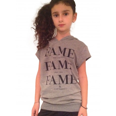 Tunique T.shirt FAME gris