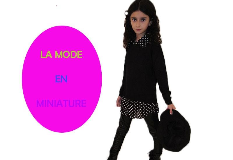 La mode en miniature