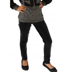 Legging noir brillant