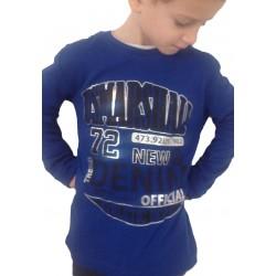 """Tee-shirt """"Marshall"""" bleu"""