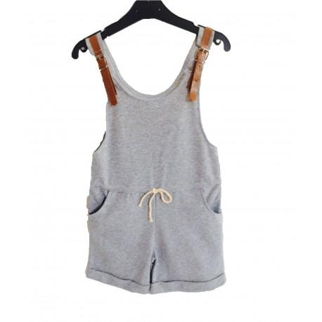 Combi-short gris