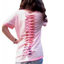 Tee-shirt rose fluo